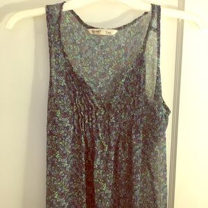 Old Navy floral tank (XS)